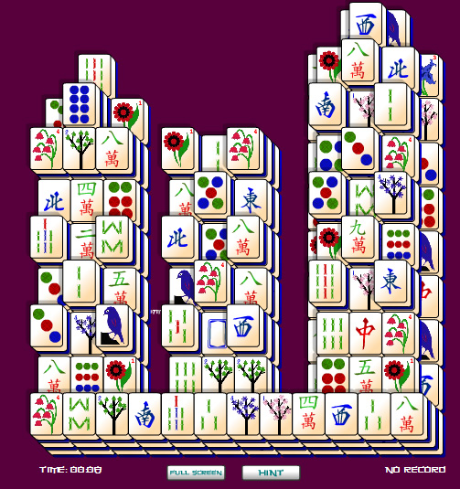 Click to view City Mahjongg 1.0 screenshot