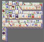flag mahjongg solitaire